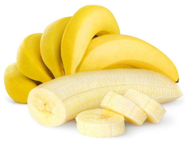 Die Banane- stillt den Heißhunger!